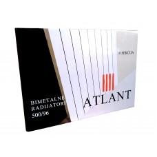 Биметаллический радиатор Atlant 500/96