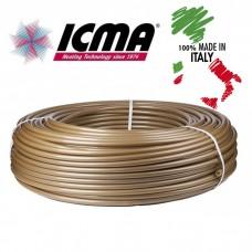 Труба для теплого пола Icma 16x2.0 с кислородным барьером