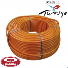 Труба для теплого пола Sanica 16x2.0 PEX-B с кислородным барьером