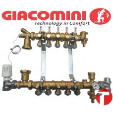 Модульный коллектор Giacomini на 2 выхода