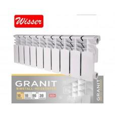 Биметаллический радиатор Wisser Granit 200/96 (Чехия)