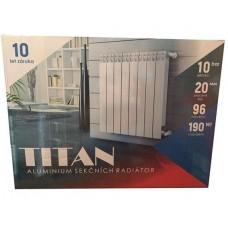 Алюминиевый радиатор Titan 500/100 (Чехия)