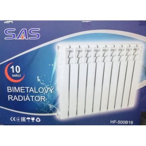 Биметаллический радиатор SAS 500/80 (Чехия)