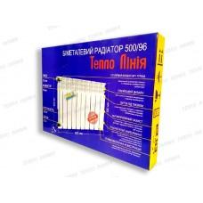 Биметаллический радиатор Тепло Линия 500/96