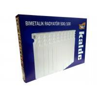 Биметаллический радиатор Kalde 500/100