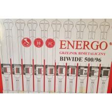 Биметаллический радиатор Energo 500/96
