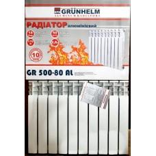 Алюминиевый радиатор Grunhelm 500/80