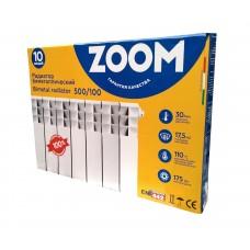 Биметаллический радиатор Zoom 500/96