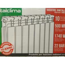 Биметаллический радиатор Italclima Ferrum 500/96