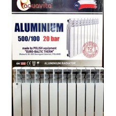 Алюминиевый радиатор Aquavita 500/96 (Original)