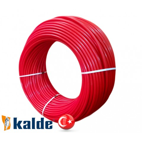 Труба для теплого пола Kalde Pro 16x2.0 PEX-A с кислородным барьером (Турция)
