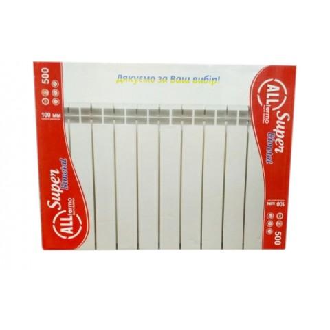 Биметаллический радиатор Alltermo 500/100/80