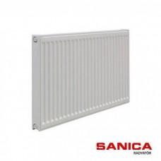 Стальной радиатор Sanica тип 11 (500/1300) Турция