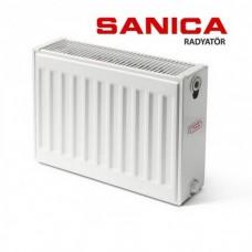 Стальной радиатор Sanica тип 22 (300/400) Турция