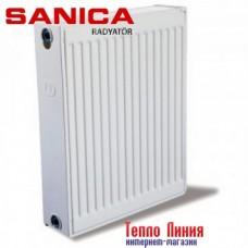 Стальной радиатор Sanica тип 22 (500/500) Турция