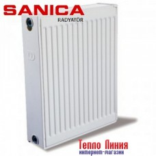 Стальной радиатор Sanica тип 22 (500/700) Турция