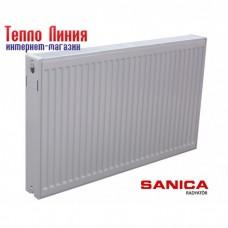 Стальной радиатор Sanica тип 22 (500/3000) Турция