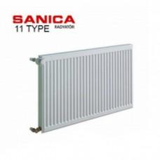 Стальной радиатор Sanica тип 11 (500/400) Турция