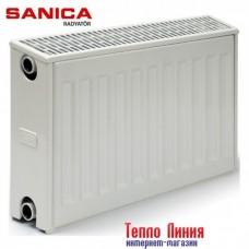 Стальной радиатор Sanica тип 33 (300/600) Турция