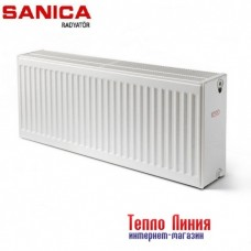 Стальной радиатор Sanica тип 33 (300/1200) Турция