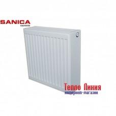 Стальной радиатор Sanica тип 33 (500/500) Турция