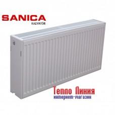 Стальной радиатор Sanica тип 33 (500/1100) Турция
