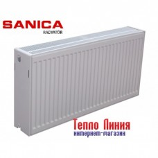 Стальной радиатор Sanica тип 33 (500/2000) Турция