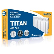 Биметаллический радиатор Titan 300/96