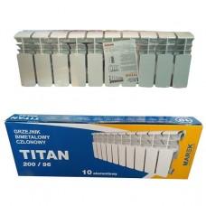 Биметаллический радиатор Titan 200/96