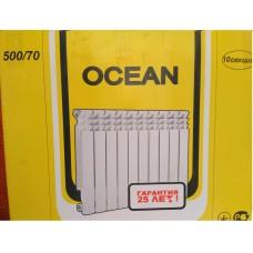 Алюминиевый радиатор Ocean 500/70/70 мм