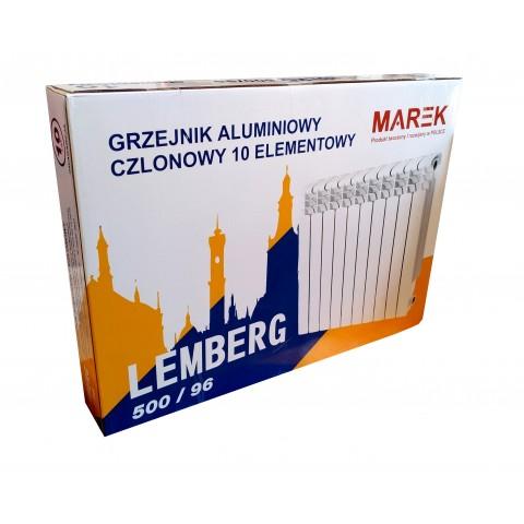 Алюминиевый радиатор Marek Lemberg 500/96