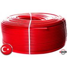 Труба для теплого пола koller pe-rt 16х2 мм c кислородным барьером