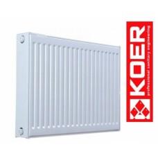 Стальной радиатор Koer 500/400 тип 22 Чехия