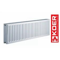Стальной радиатор Koer 300/400 тип 22 Чехия