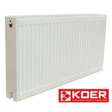 Стальной радиатор Koer 500/2000 тип 22 нижн.подкл. Чехия