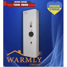 Электрический котел Warmly WCE 3квт 220V (модульный контактор т.х.)