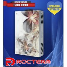 Газовая колонка ROCTERM ВПГ - 10АЕ (Цветы)