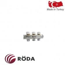Коллектор распределительный Roda с термоклапаном 12 выходов