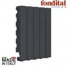 Алюминиевый радиатор FONDITAL BLITZ SUPER B4 BLACK COFFEE 500/100
