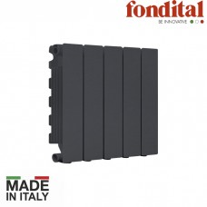 Алюминиевый радиатор FONDITAL BLITZ SUPER B4 BLACK COFFEE 350/100
