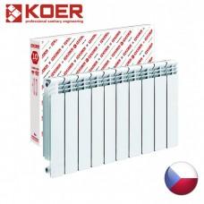 Алюминиевый радиатор Koer 500/96