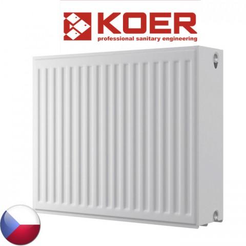 Стальной радиатор Koer 500/2000 тип 33 Чехия