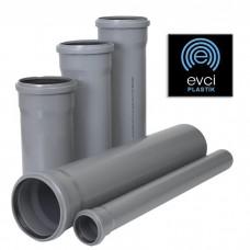 Труба с раструбом Evci Plastik 50х250 для внутренней канализации