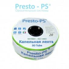 Капельная лента Presto-PS эмиттерная 3D Tube 3D-20-2000