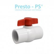 Кран шаровый Presto-PS 19 мм с внутренней резьбой 3/4 дюйма