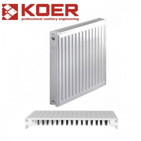 Стальной радиатор Koer 500/2000 тип 11 Чехия