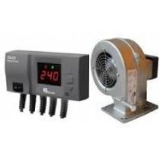 Вентилятор и автоматика котла DP02+CS20