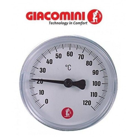 "Термометр Giacomini 1/2"" - 0÷120 °C - Ø61,5 mm"