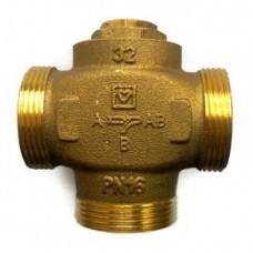 "Термостатичний клапан триходовий Hertz TeploMix 1 1/2"" (61 °C), Kv 14 - DN32"