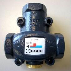 """Термостатический смесительный клапан ESBE VRG131 Rp 1 1/4"""" DN32 kvs 16  (под сервопривод)"""